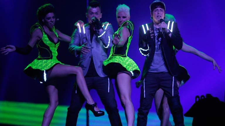 Austria Eurovisión 2012 - Trackshittaz - 1ª semifinal