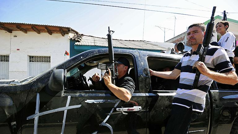 En México continúa el conflicto de las llamadas autodefensas