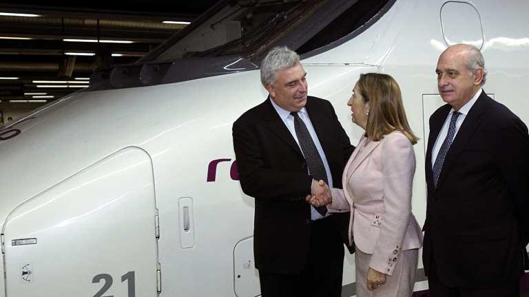 Inauguración del servicio internacional de AVE entre España y Francia
