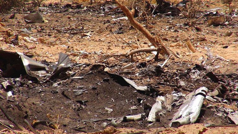 Francia recibe las cajas negras del avión de Swiftair siniestrado en Mali