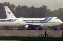 Aviones de Aerolíneas Argentinas en el aeropuerto de Buenos Aires