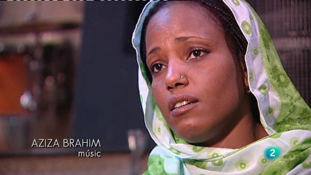 Continuar&agrave; - Aziza Brahim, cantant 