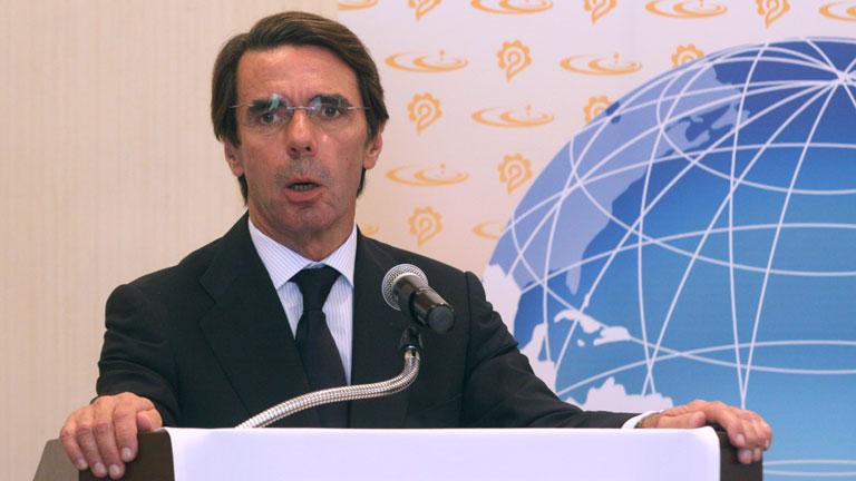"""El expresidente del Gobierno José María Aznar asegura que """"nadie va a romper España"""""""