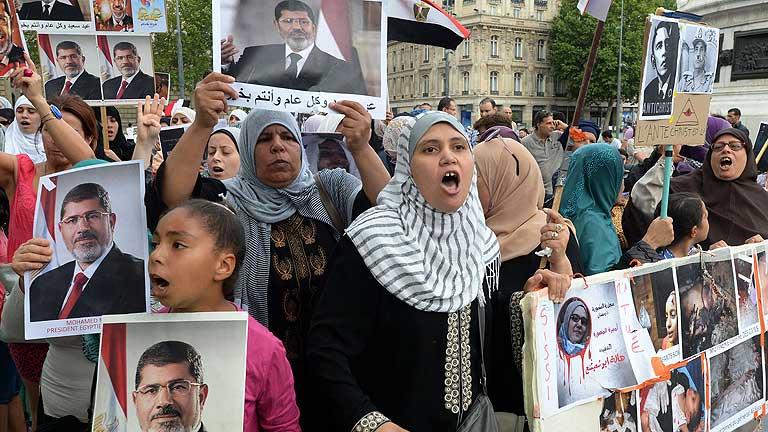 Baja la tensión en Egipto