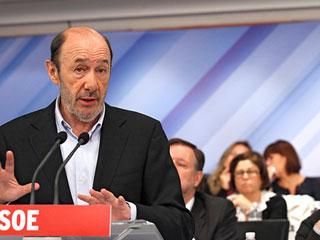 Ver vídeo  'Balance de Zapatero y Rubalcaba en el Comité Federal'