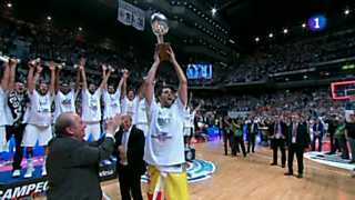 Ver vídeo  'Baloncesto - Liga Endesa. Play off Final, 5º partido: Real Madrid - Barcelona Regal'