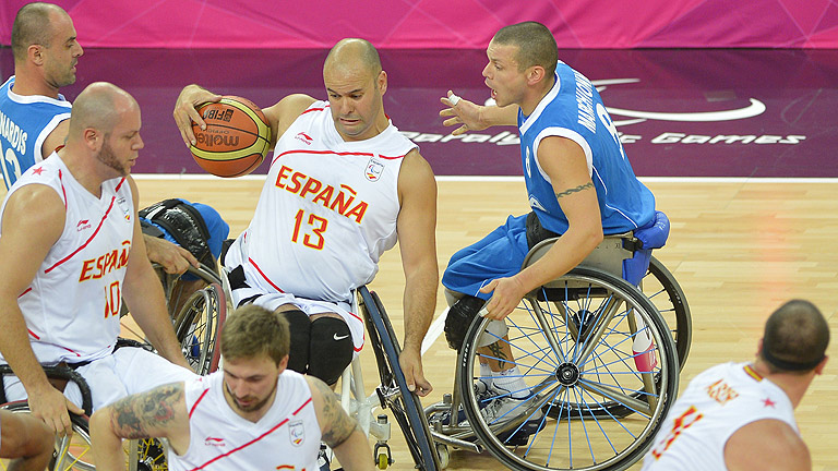 El baloncesto paral&iacute;mpico espa&ntilde;ol quiere medalla