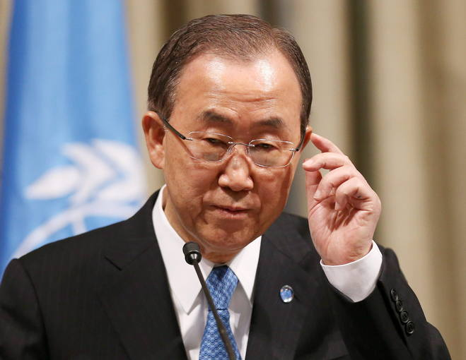 Ban Ki-moon demanded an end to growing civil conflict in South Sudan.