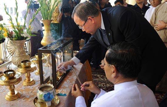 Ban Ki-moon reclama a la junta birmana más coordinación en el reparto de la ayuda humanitaria