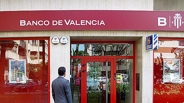 El Banco de España interviene el Banco de Valencia