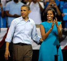 Barack Obama Launches Re-Election Bid At Rallies In Ohio, Virginia