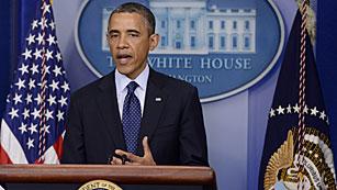 """Ver vídeo  'Barack Obama: """"Quien sea el responsable sufrirá el peso de la ley""""'"""