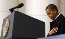 Barack Obama ha rendido homenaje en el Día de los Veteranos caídos en conflictos armados.