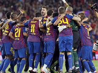 Ver vídeo  'El Barça gana la Supercopa con bronca final'