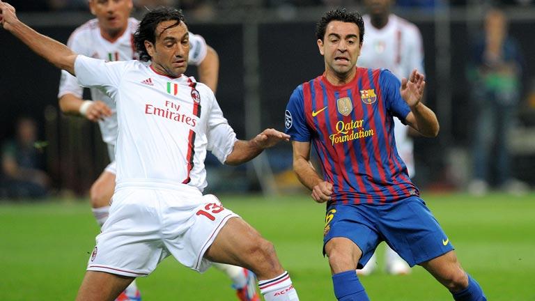 El Barça recibe al Milan pendiente de Xavi