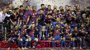 Ver vídeo  'El Barcelona, campeón de la Copa del Rey 2012'