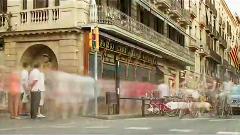 Barcelona a ritmo de 'time lapse'