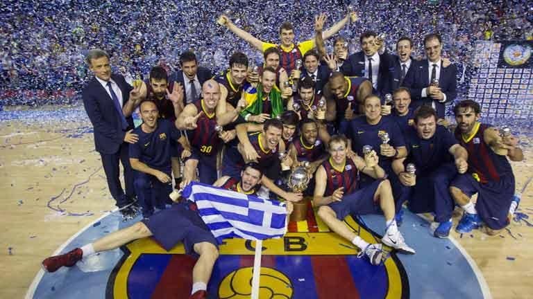 El Barcelona se proclama campeón tras ganar al Real Madrid el cuarto partido