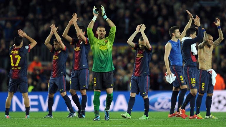 El Barcelona, en semifinales seis años seguidos