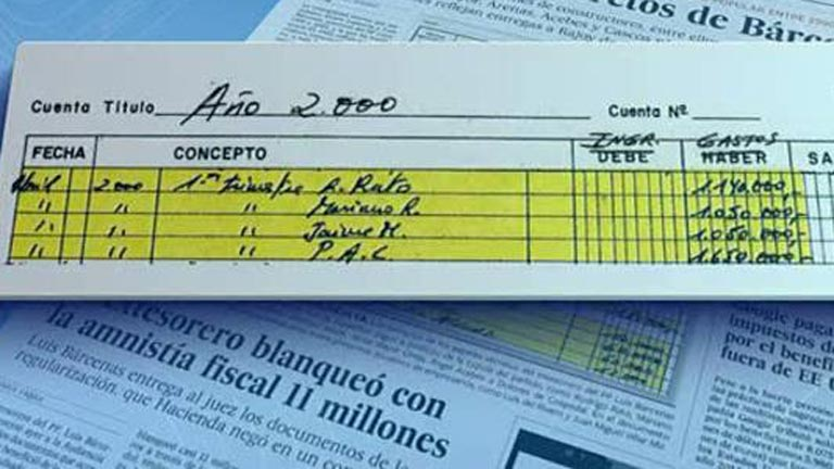 B&aacute;rcenas reparti&oacute; pagos a los principales cargos del PP, seg&uacute;n El Pa&iacute;s