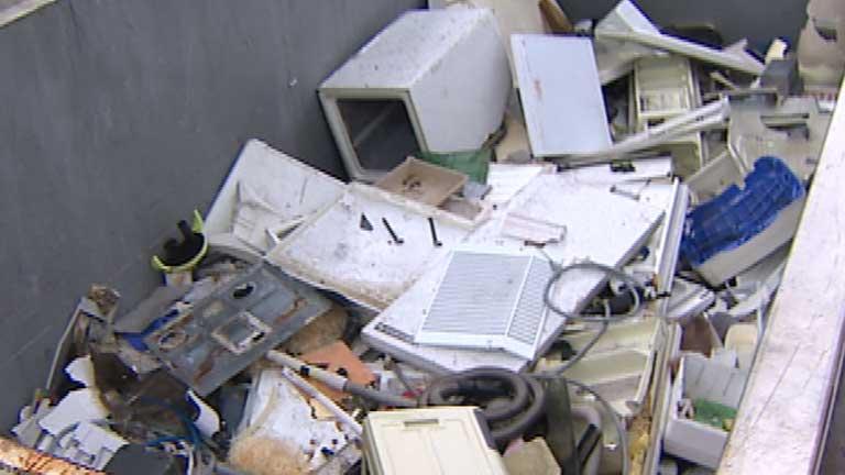 Aumento de los residuos electrónicos