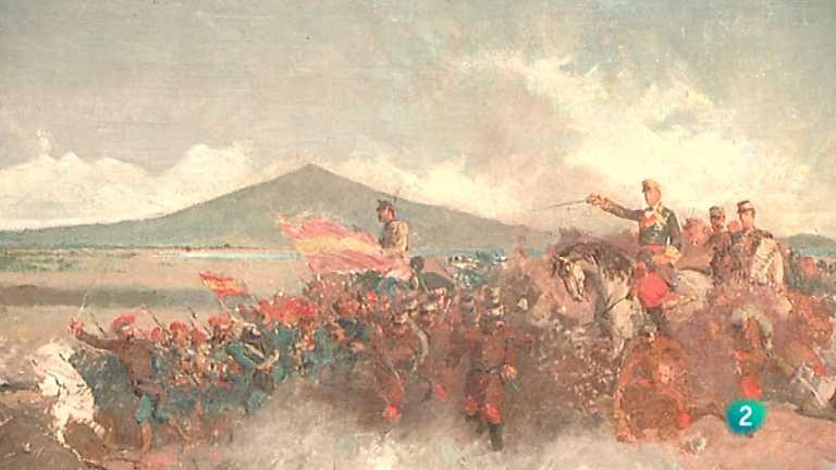 La mitad invisible - La batalla de Tetuán (M. Fortuny)