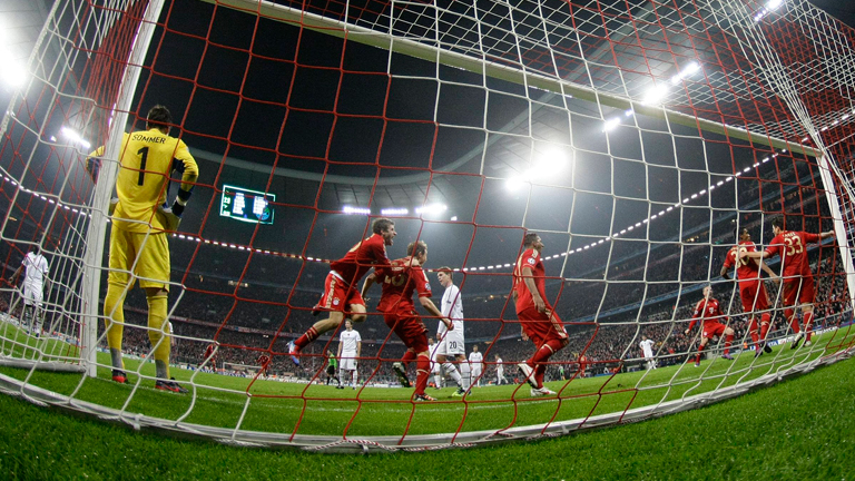 El Bayern golea al Basilea