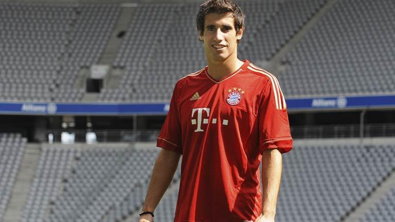 El Bayern de Münich presenta oficialmente a Javi Martínez
