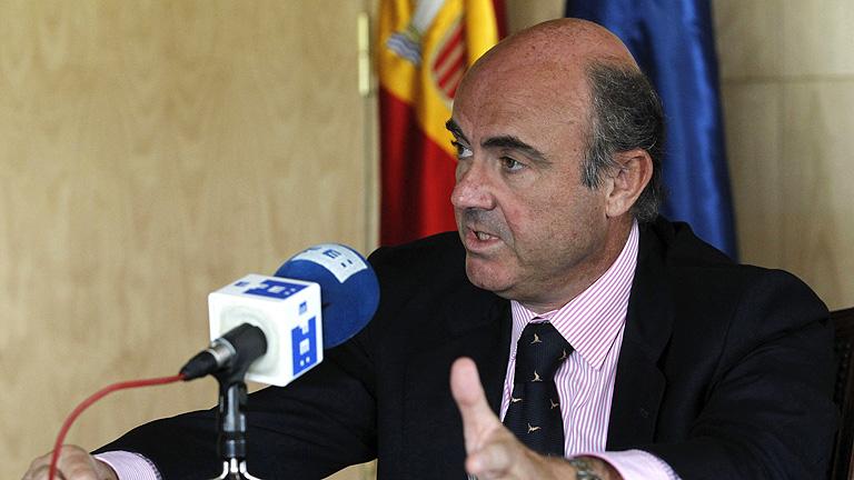 Guindos asegura que el BCE podría comprar deuda española