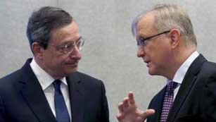 Ver vídeo  'El BCE toma como primera decisión mantener los tipos de interés'