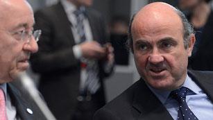 Ver vídeo  'El BCE urge a España a aplicar los presupuestos y De Guindos propone acortar algunos trámites'