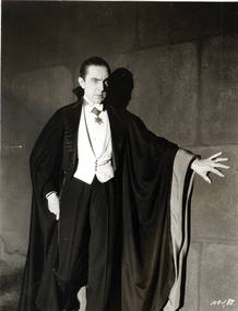 Bela Lugosi es 'Dr&aacute;cula'