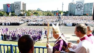 """Ver vídeo  'Benedicto XVI, en La Habana: """"Cuba y el mundo necesitan cambios""""'"""
