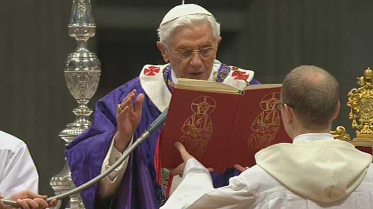 La cuenta atrás para la renuncia del Papa