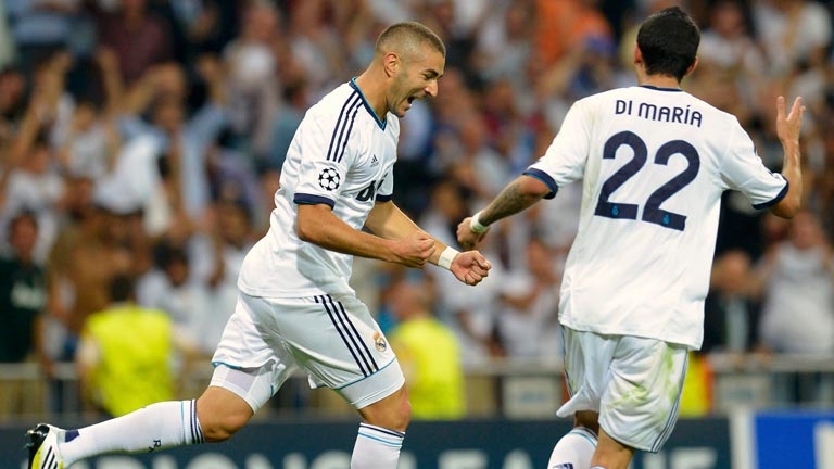 Benzema sostiene al Real Madrid (2-2)
