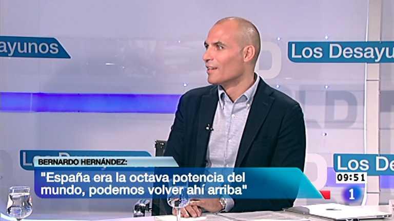 Los desayunos de TVE - Bernardo Hernández, Dir.mundial de productos emergentes de Google