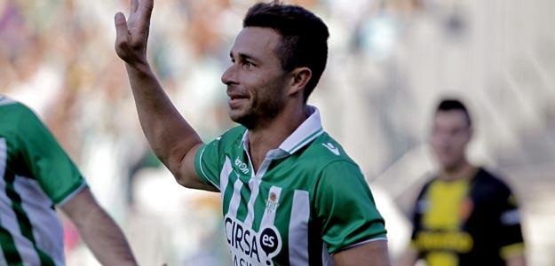 El delantero del Real Betis, Rubén Castro