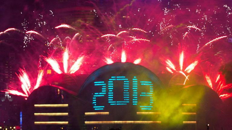 China, Japón, Australia y Nueva Zelanda dan la bienvenida al 2013 unas horas antes