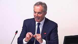 Ver vídeo  'Blair comparece ante la comisión Leveson'