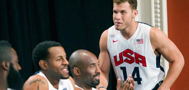 Blake Griffin, ala-pívot de Los Ángeles Clippers