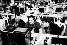 Los blogueros Pixel y Dixel
