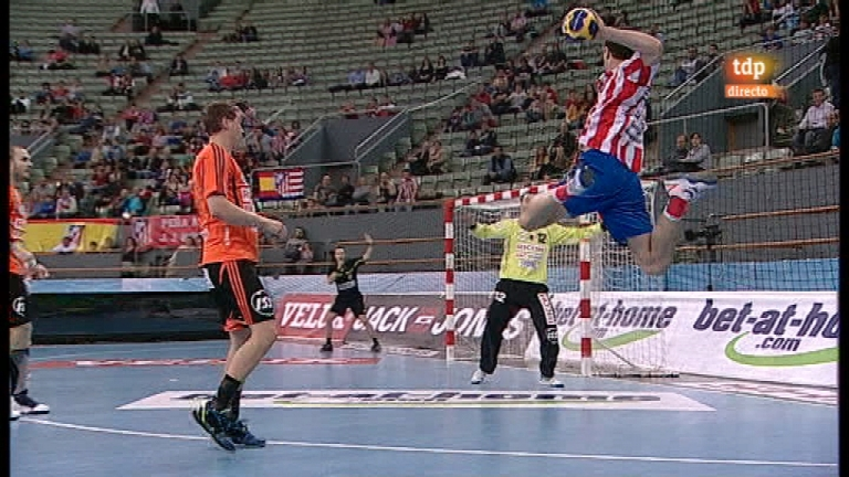Balonmano - Liga de Campeones EHF - BM Atl&eacute;tico Madrid - Kadetten Schaffhausen - 25/03/12