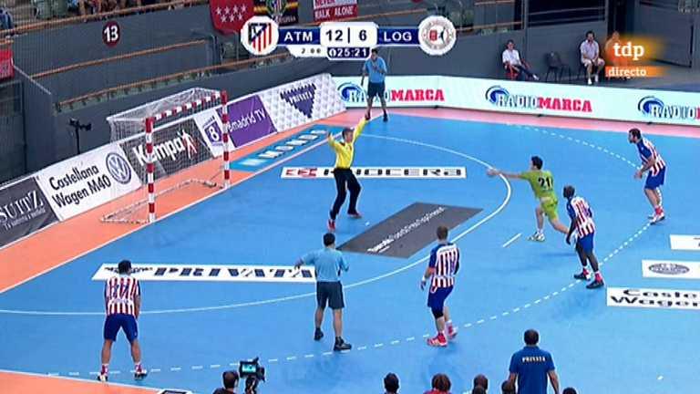 Balonmano - Liga ASOBAL: BM Atlético Madrid-Naturhouse La Rioja
