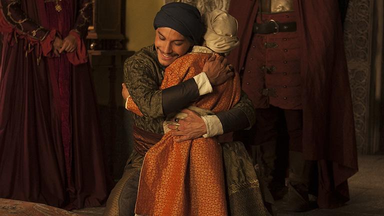 Isabel - Boabdil entrega a su hijo