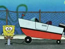 Imagen del  v&iacute;deo de Bob Esponja en ingl&eacute;s titulado BOAT SMARTS
