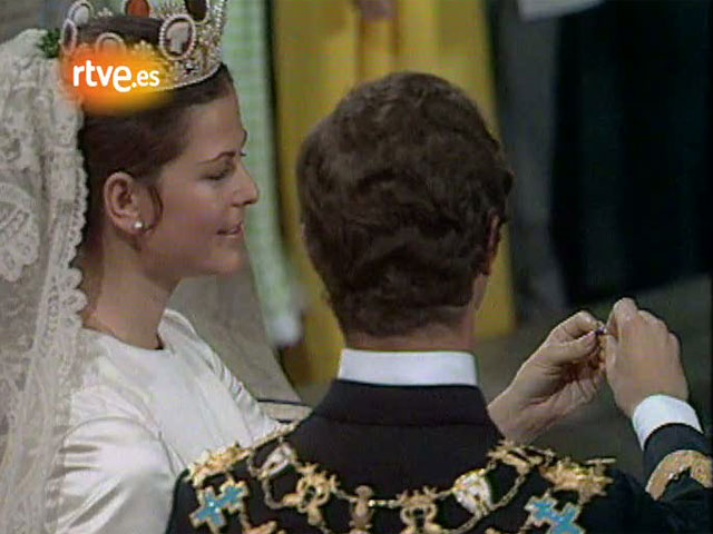 Boda de los reyes de Suecia