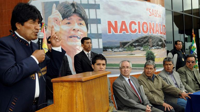 Bolivia expropia la filial de Abertis y Aena que administra tres aeropuertos en el país