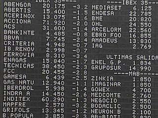 Ver v?deo  'La Bolsa española baja el 1,41% lastrada por las dudas sobre Italia y la situación de Grecia'