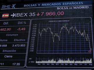 Ver vídeo  'Las bolsas se hundieron tras los rumores sobre la rebaja de calificación de la deuda de Francia'