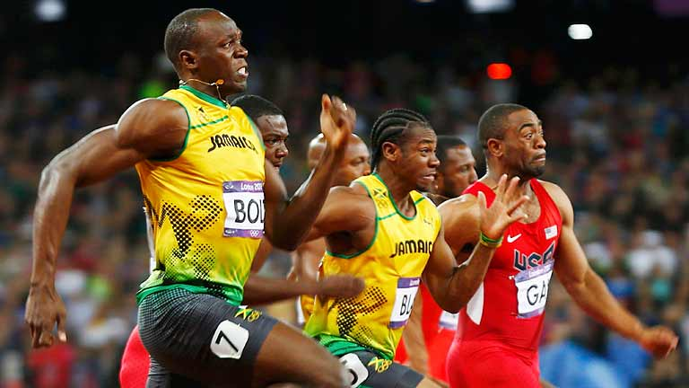 Bolt, el emperador de los 100m